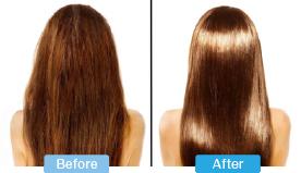 ふっくらツヤツヤでまとまりやすい髪質に変身